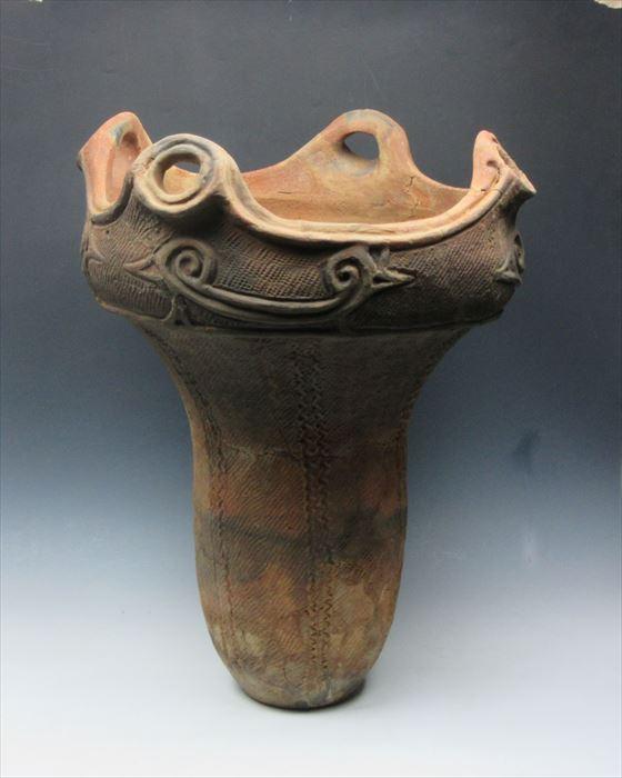 縄文土器 大深鉢