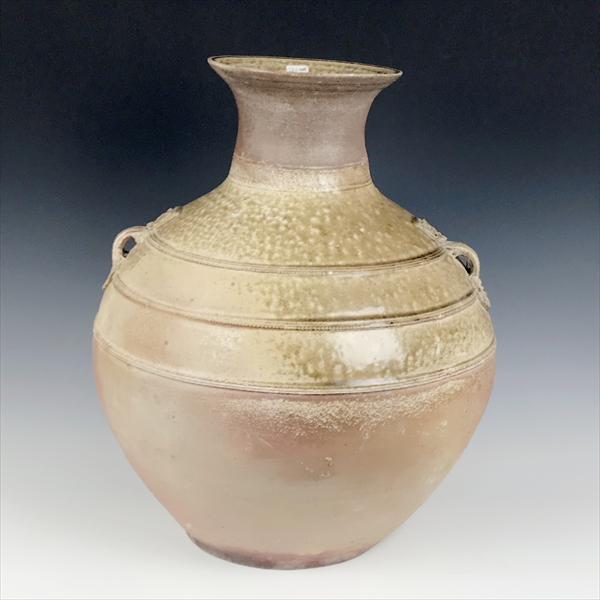 中国 漢 灰釉壺