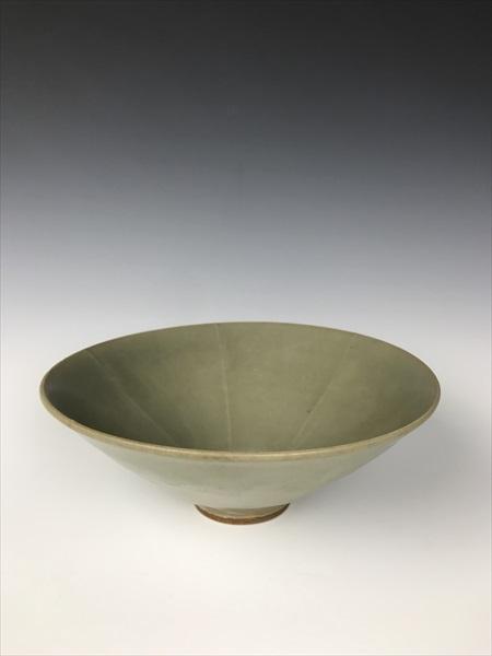 中国 耀州窯 青磁菓子鉢