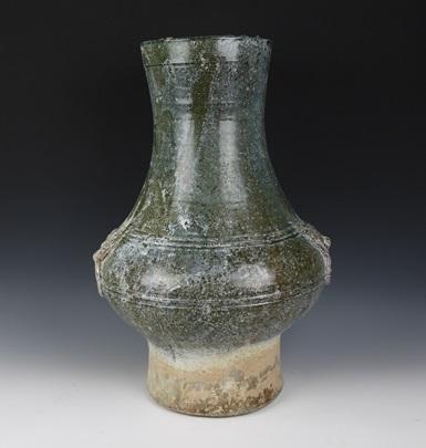 中国 漢 緑釉壺